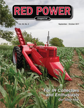 Sept-Oct 2017 Red Power Magazine Cover