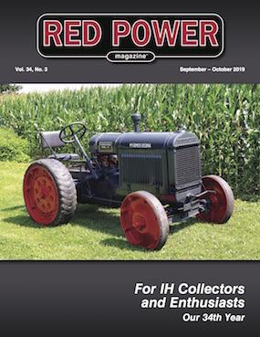 September-October 2019 Red Power Magazine Cover